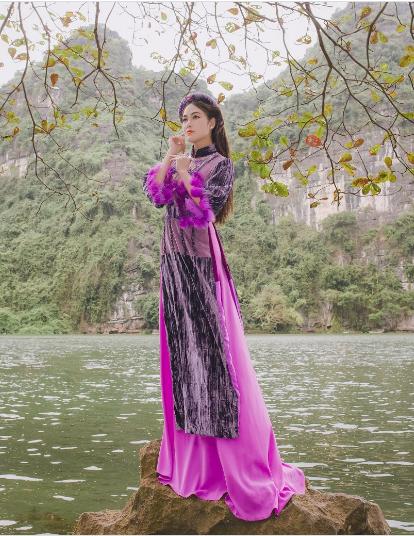 Hoa hậu áo dài Tuyết Nga bất ngờ phát hành MV giữa tâm dịch Corona - Ảnh 4.