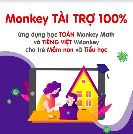 Miễn phí ứng dụng học toán, tiếng Việt cho trẻ mầm non và tiểu học trong mùa dịch - Ảnh 1.
