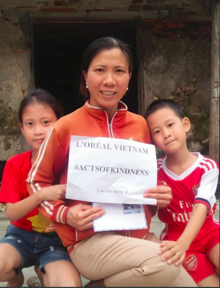 L'Oréal lan tỏa sự tử tế đến các học viên nghèo - Ảnh 3.