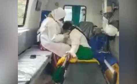 Phá khóa bệnh viện không kịp, bệnh nhân nghi nhiễm Covid-19 tử vong - Ảnh 1.