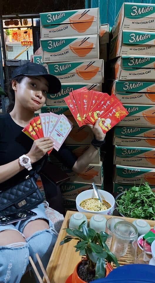 Lê Bê La, Cao Thái Hà, Đại Nghĩa dốc sức vì người bán vé số thất nghiệp - Ảnh 1.