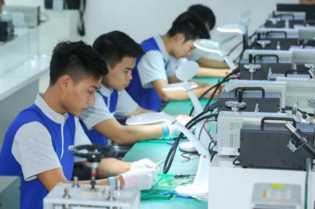 Doanh nghiệp FDI chủ động đào tạo nguồn nhân lực - Ảnh 1.