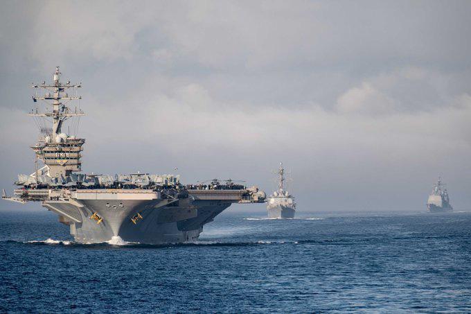 Tung đồng loạt 6 tàu sân bay, Mỹ cảnh báo đừng lầm tưởng đánh bại được Mỹ - Ảnh 2.