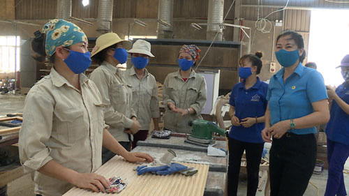 Hà Nội: Giám sát việc phòng chống dịch bệnh tại doanh nghiệp - Ảnh 1.