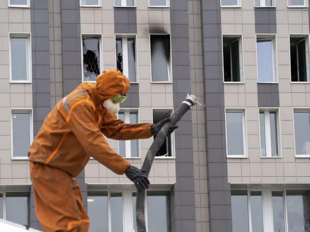 Nga điều tra mẫu máy thở bị nghi gây cháy, làm chết 6 người - Ảnh 2.