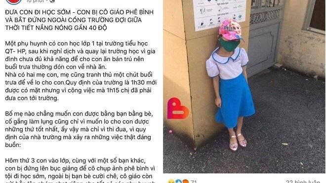 Vu hoc sinh dung ngoai cong truong: Xuat hien clip phu huynh tu dan dung?