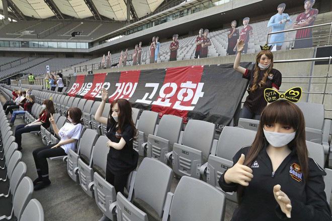Búp bê tình dục dự khán khiến CLB của Hàn Quốc bị phạt nặng - Ảnh 1.