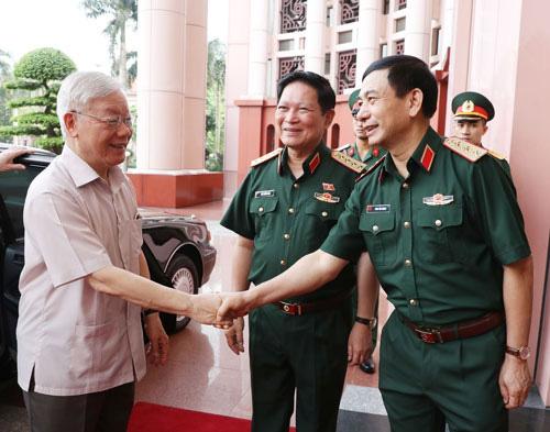 Chuẩn bị thật tốt nhân sự quân đội tham gia BCH Trung ương - Ảnh 1.
