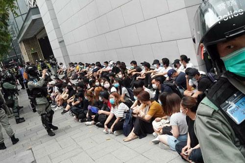 Mỹ xem xét trừng phạt Trung Quốc vì vấn đề Hồng Kông - Ảnh 1.