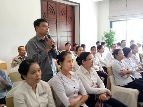 Thừa Thiên - Huế: Doanh nghiệp đối thoại với người lao động - Ảnh 1.