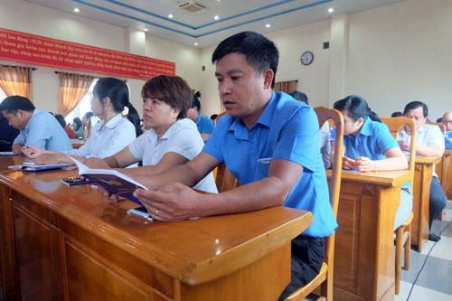 Đà Nẵng: Nâng cao nghiệp vụ cán bộ Công đoàn - Ảnh 1.