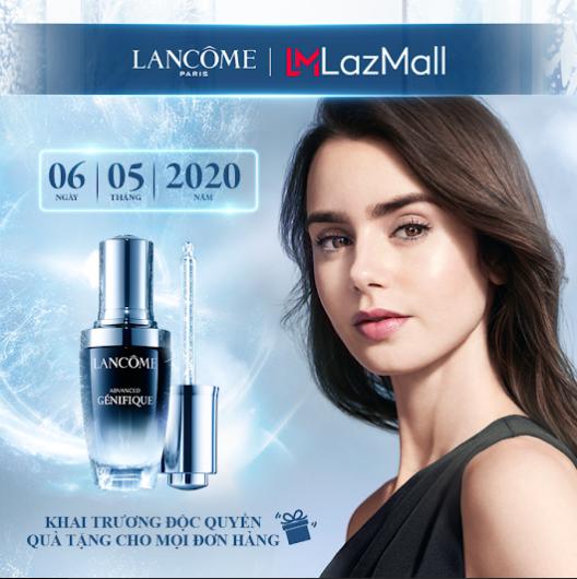 Khai trương LazMall trên Lazada, Lancôme tặng ngàn món quà giá trị - Ảnh 1.