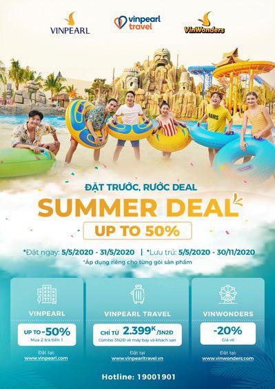 Vinpearl siêu ưu đãi đón hè 2020 với kỳ nghỉ 5 sao trọn gói chỉ từ 2.399.000 đồng - Ảnh 1.