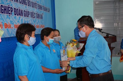 TP HCM: Quận Thủ Đức ra mắt nghiệp đoàn giúp việc - Ảnh 1.