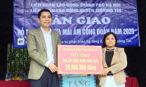 Hà Nội: Vận động ủng hộ Quỹ Xã hội Công đoàn - Ảnh 1.
