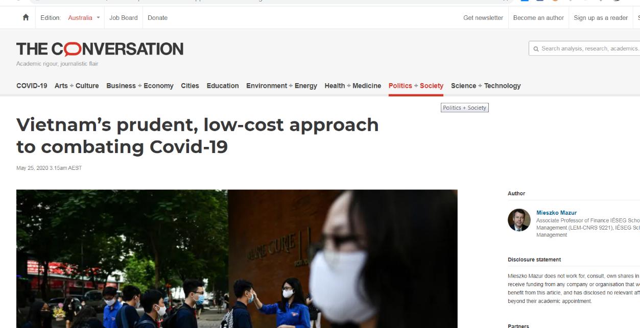 [eMagazine] Chống dịch covid-19: Thế giới nói gì về Việt Nam? [PHẦN CUỐI] - Ảnh 9.