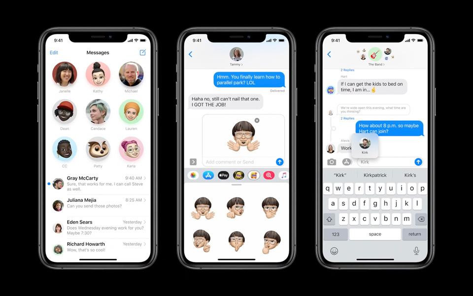 Apple ra mắt iOS 14: Giao diện tối ưu hơn, thêm tính năng cho Siri, iMessage,  Maps - Báo Người lao động