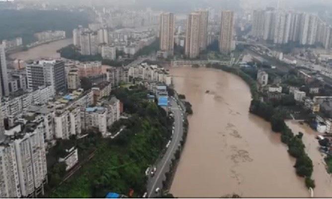 Trung Quốc Lũ Lụt Lan Rộng 26 Tỉnh đập Tam Hiệp Gặp Thử Thach Lớn Nhất 17 Năm Bao Người Lao động