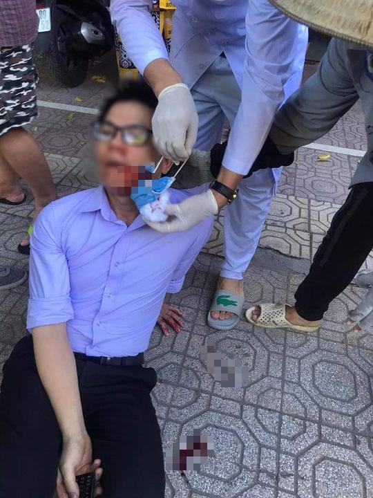 Vụ cán bộ tư pháp bị giang hồ hành hung ở Thái Bình: Vợ nguyên chủ tịch phường chủ mưu - Ảnh 2.