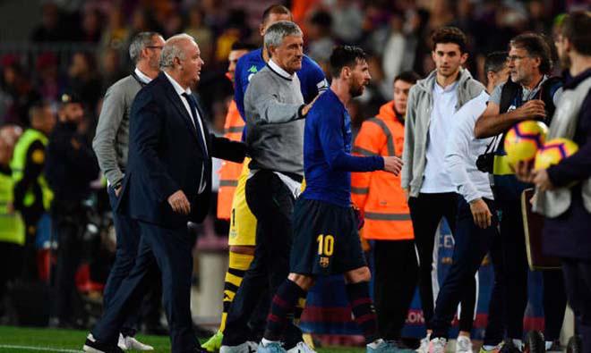Messi chống đối HLV Setien, Barcelona chuẩn bị thay tướng - Ảnh 2.