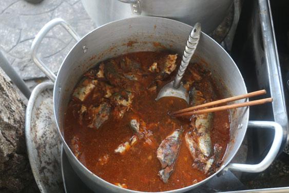 Đắm đuối cháo cá nục bắp chuối - Ảnh 2.