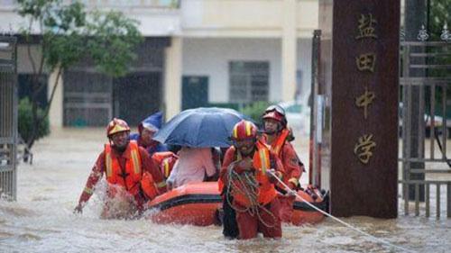 Lũ lụt tiếp tục hoành hành tại Trung Quốc, Nhật Bản - Ảnh 1.