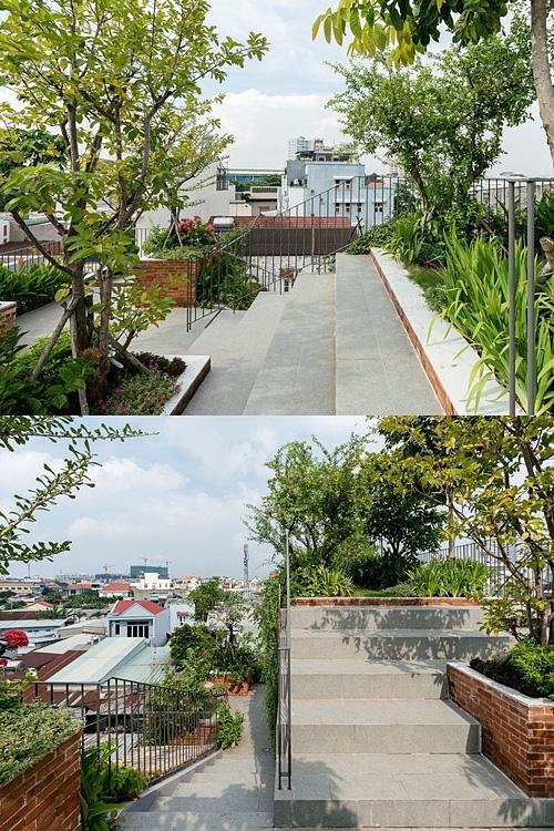 Ngôi nhà có công viên trên sân thượng - Ảnh 2.