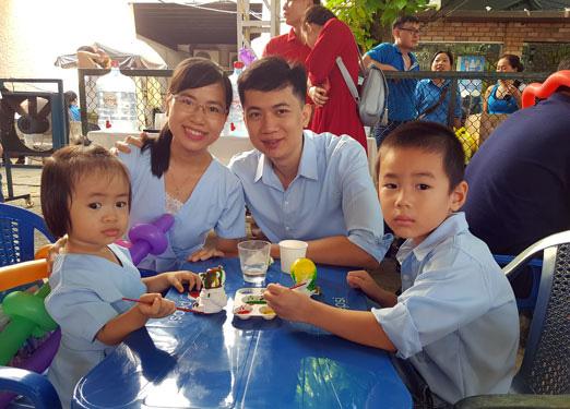 Ấm áp Ngày hội Văn hóa - Gia đình hạnh phúc - Ảnh 1.
