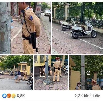 CSGT nói gì về thông tin chạy ra giữa đường kéo ngã 2 người phụ nữ đi xe máy? - Ảnh 1.