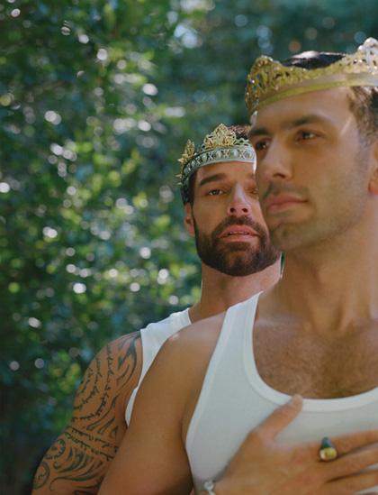 Cuộc sống tránh dịch của Ricky Martin - Ảnh 2.