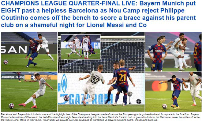Báo chí Tây Ban Nha và châu Âu chê cười nỗi ô nhục Barcelona - Ảnh 10.