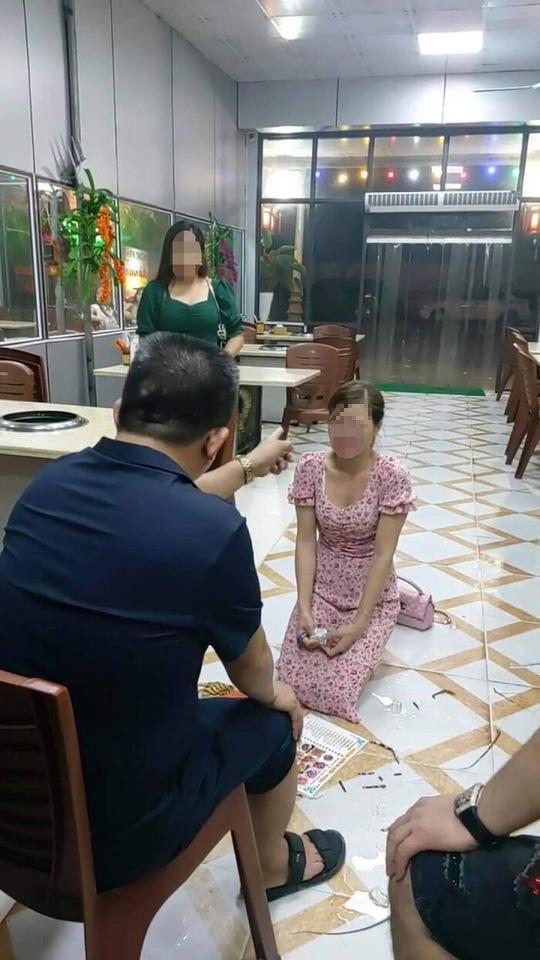 Xác minh thông tin cô gái trẻ bị chủ nhà hàng bắt quỳ, xin lỗi vì chê món ăn mất vệ sinh - Ảnh 1.