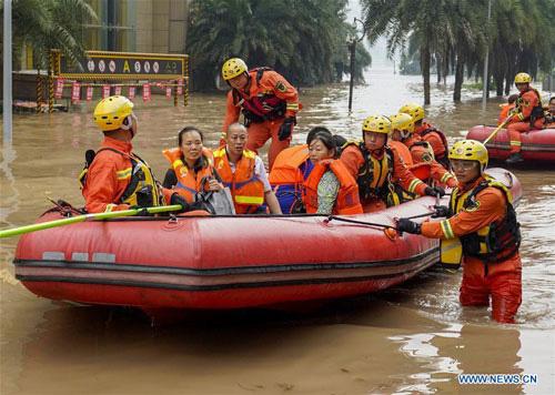 Lũ Lụt Thach Thức Mới đối Với Lanh đạo Trung Quốc Bao Người Lao động