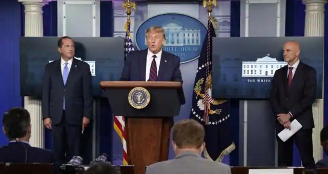 Tổng thống Trump thông báo đột phá trong điều trị Covid-19 - Ảnh 1.