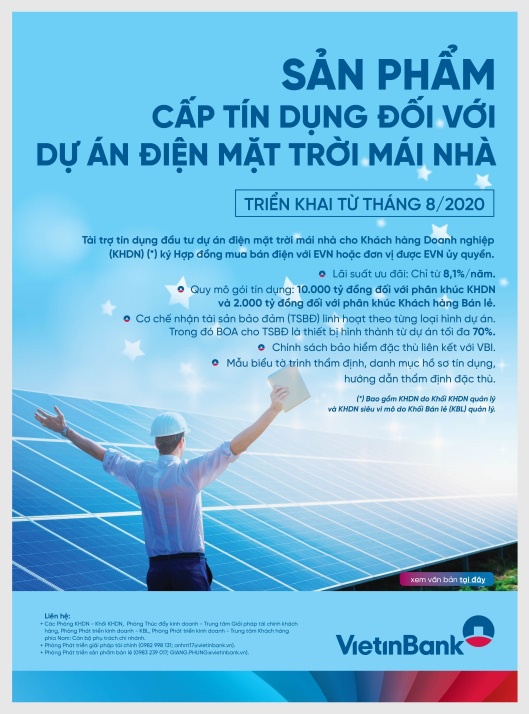 VietinBank đồng hành cùng doanh nghiệp trong các dự án điện mặt trời mái nhà - Ảnh 1.