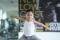 Quốc Cơ tập xiếc cho con trai 3 tuổi để lập kỷ lục Guinness Việt Nam - Ảnh 19.
