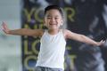 Quốc Cơ tập xiếc cho con trai 3 tuổi để lập kỷ lục Guinness Việt Nam - Ảnh 3.