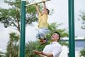 Quốc Cơ tập xiếc cho con trai 3 tuổi để lập kỷ lục Guinness Việt Nam - Ảnh 30.