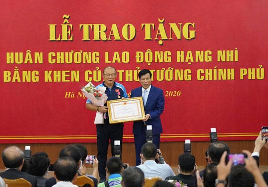 HLV Park Hang-seo cảm ơn nhân dân Việt Nam - Ảnh 1.