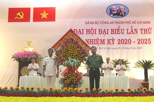 Đại tá Lê Hồng Nam giữ chức Bí Thư Đảng ủy Công an TP HCM - Ảnh 1.