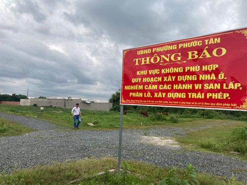 Biên Hòa: Khóc ròng vì dự án ma - Ảnh 1.
