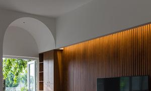 Ngôi nhà theo phong cách vừa đủ ở TP HCM - Ảnh 5.