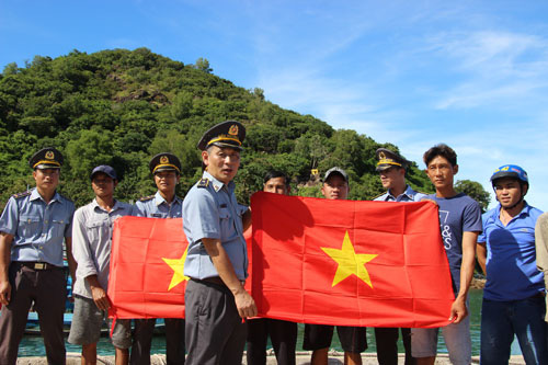 Quần đảo Nam Du rạng ngời cờ Tổ quốc - Ảnh 1.