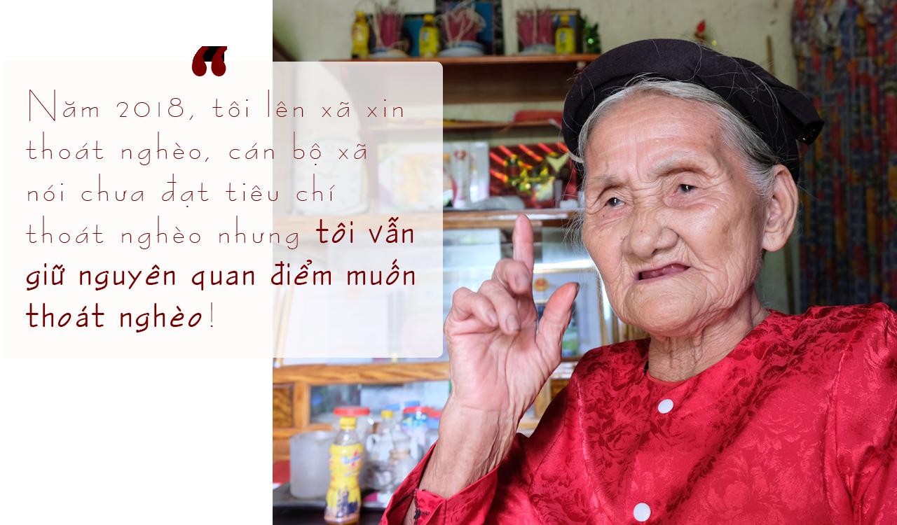 Hôm nay cụ bà xin thoát nghèo gây sốc lên tỉnh nhận điển hình tiên tiến - Ảnh 6.