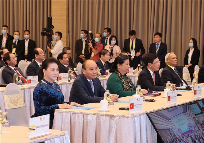 Tổng Bí thư, Chủ tịch nước Nguyễn Phú Trọng phát biểu chào mừng AIPA 41 - Ảnh 7.
