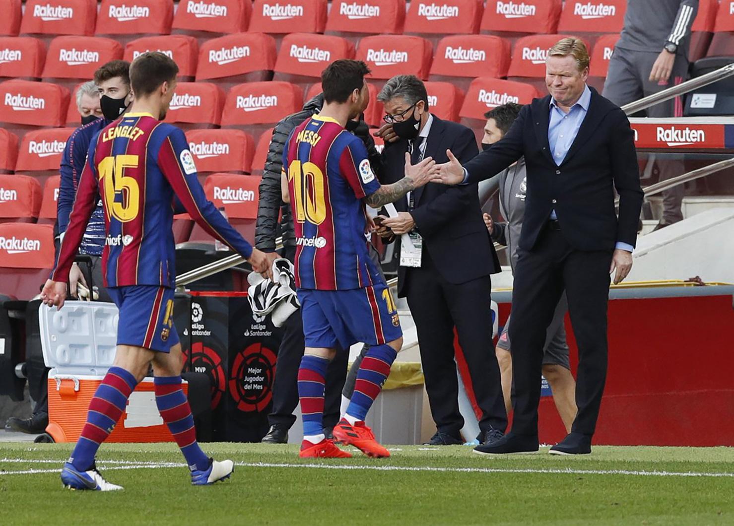 Ronald Koeman tự tin tái thiết Barcelona - Báo Người lao động