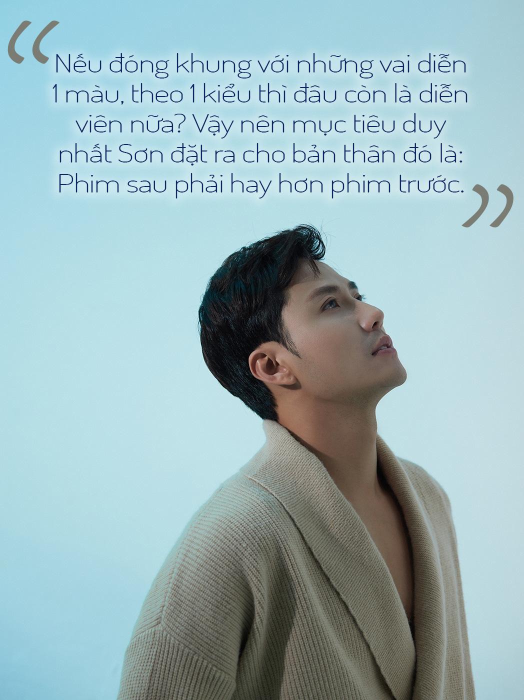 [eMagazine] Diễn viên Thanh Sơn: Phim sau phải hay hơn phim trước! - Ảnh 5.