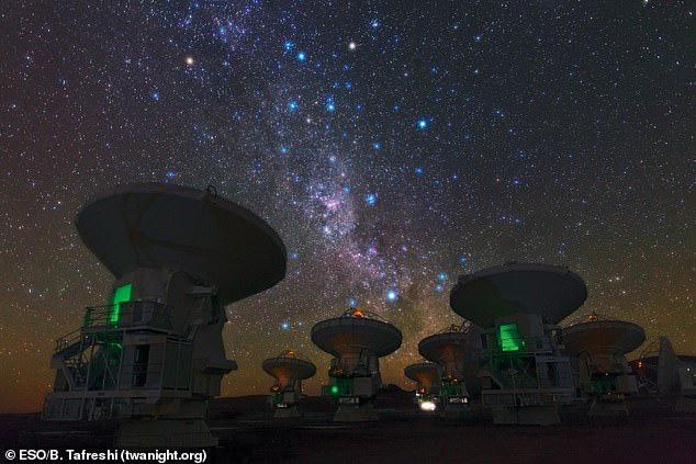 Hệ thống ALMA - Ảnh: ESO