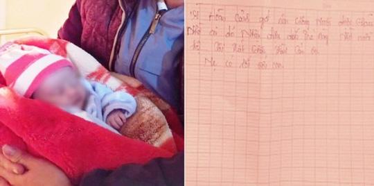 Bé gái sơ sinh bị bỏ rơi trong đêm rét buốt 10 độ C với dòng chữ mẹ có lỗi với con - Ảnh 1.