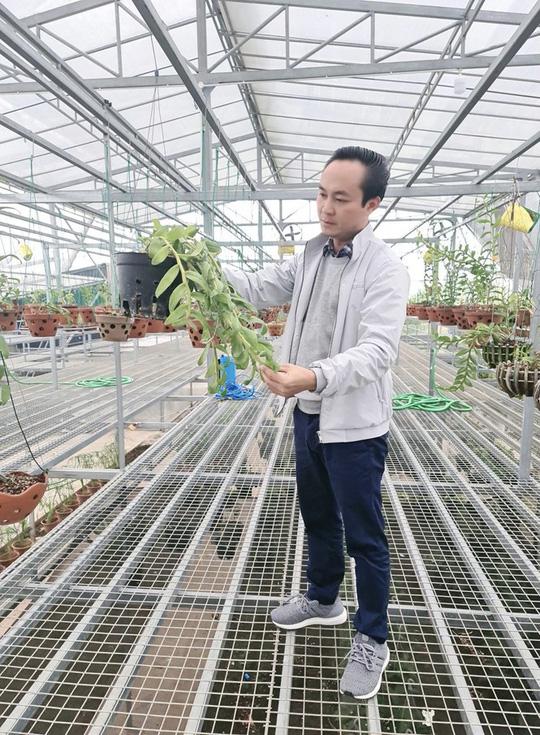 Nghệ nhân Minh Xa chia sẻ bí quyết chăm sóc hoa lan - Ảnh 3.
